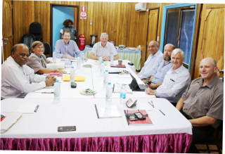 Historic BCL board meeting in Bougainville