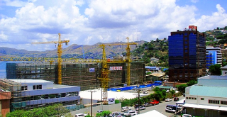 Port-Moresby construction
