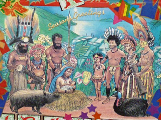 Melanesian Nativity