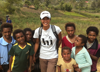 Sheena Li in Papua New Guinea  (Sheena Li)