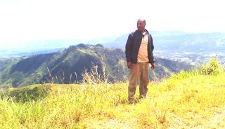 Jimmy Awagl in his beloved mountains