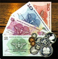PNG currency