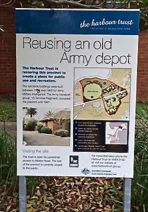 Just an old army depot....