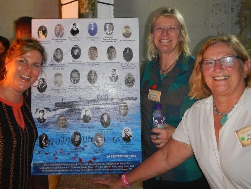 Honouring ANMEF Centenary - Susie McGrade, Kathryn Spurling, Margaret Hadfield