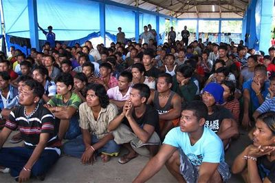 Thai fishing trawlers named in slavery investigation (Wong Maye-E - AP)