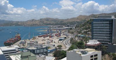 Port Moresby waterfront