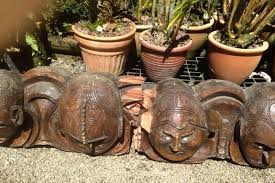 The discarded parliamentary carved heads