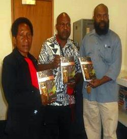 The anthology arrives in Goroka