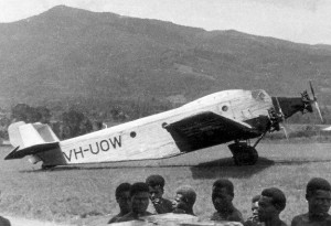Junker tri-motor at Wau