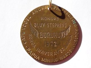 Stephens' Medallion Obverse