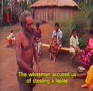The white man accused us of stealing.... (First Contact)