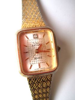 Oscar De La Renta Gold Womens Watch