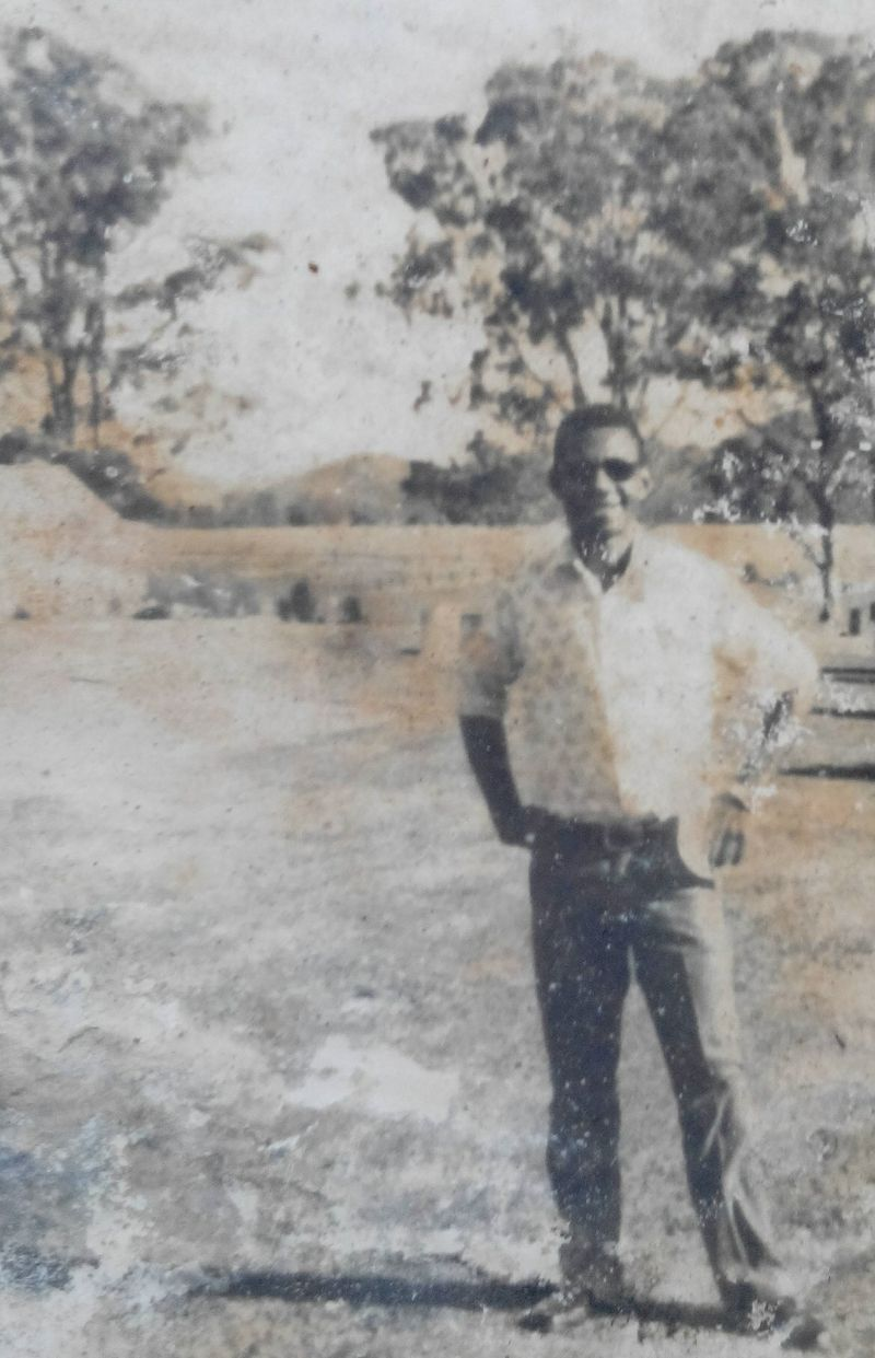 Joseph at a Hunter Valley vineyard during the middle management course, 1974