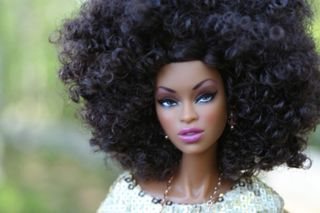Black Barbie doll