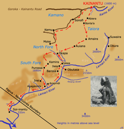 Map of the Obutasa patrol