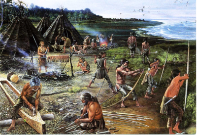 Mesolithic_Hunter_Gatherers_7000BC