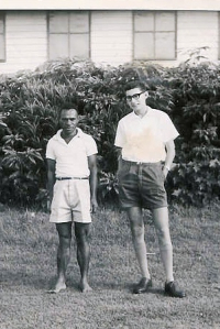 Di Siune & Keith, Goroka, January 1964
