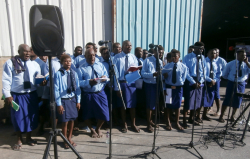 United Church Combined Men's Choir  Rabaul