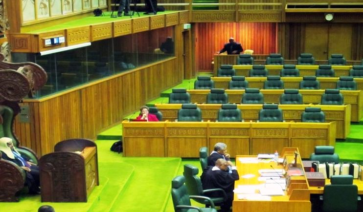 Dame Carol Kidu  once the only woman in parliament