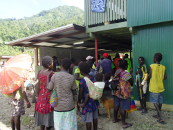 Landowners queue to receive payments from BCL