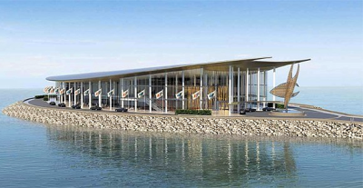 Artist's impression of APEC Haus