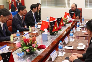 China-PNG sign road deal