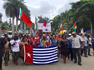 Protesters in Vanuatu support West Papua's fight for independence