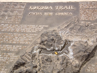 Kokoda memorial tablet