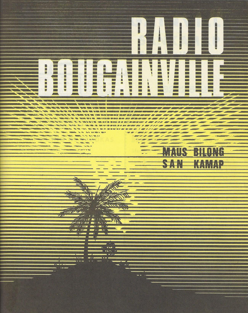 Radio Bougainville program guide 1972