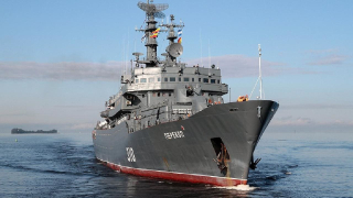 Russian navy training ship Perekop