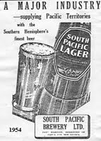 SP beer ad  1954