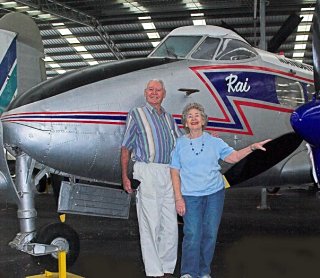 Sir Reginald and Lady Maureen Barnewall in 2008