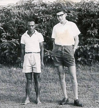 Di Siune & Keith  Goroka  January 1964