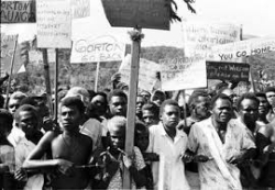 Rabaul protesters