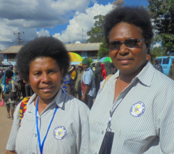Principal  and deputy principal Jane (right)