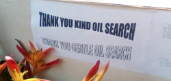 Thanks Oil Search (Jimmy Awagl)