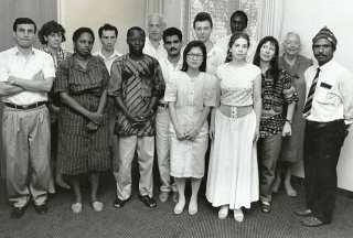 Kumbon - AFPF fellows  USA  1991