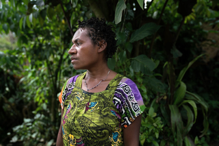 Patty  a 27-year-old betel nut seller in Goroka  says her husband is unemployed and sometimes steals the income she earns (NPR)