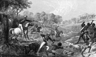 The Slaughterhouse Creek massacre of 1838