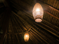 Kokopo fishtrap lamp