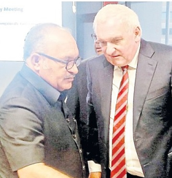 Peter O'Neill and Bertie Ahern (The National)