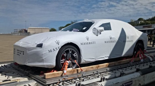 One of the controversial Maserati cars