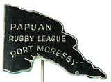 Papuan Rugby League badge