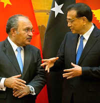 Peter O'Neill and Li Keqiang
