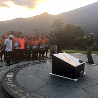 Dawn Service at Isurava