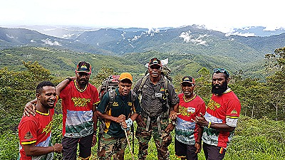 Adventure Kokoda team