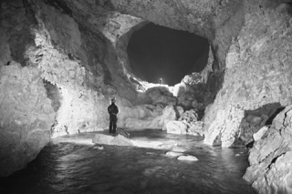 A large underground river in the Muruk system