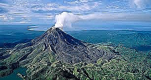 Mt Bagana in Bougainville