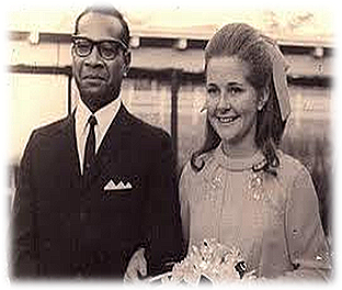 Wedding of Carol to Buri Kidu in 1969