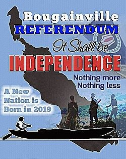 Independence referendum poster